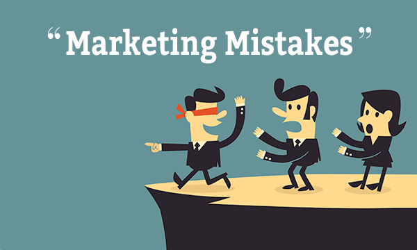 The Biggest Mistakes Marketers Make….. And How To Correct Them